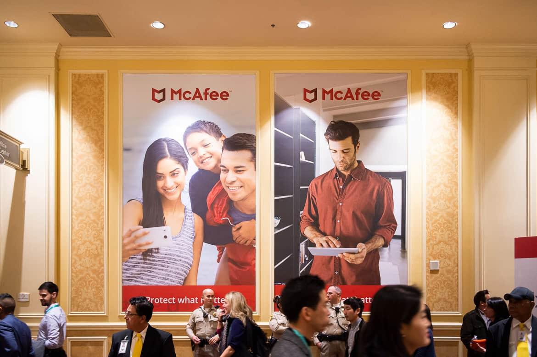 McAfee Large Signage