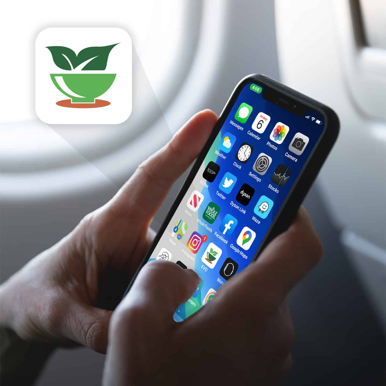 EatGreen Airport App